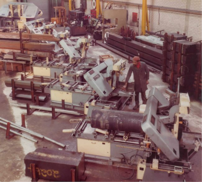 Accurate Cutting Services history - Amada saws