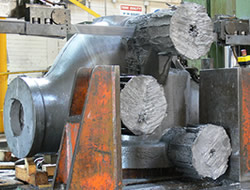 Large casting for sectioning