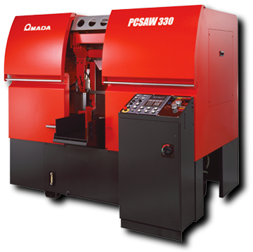 Amada PC330 pulse cutting bandsaw