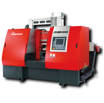 Amada PC430X pulse cutting bandsaw
