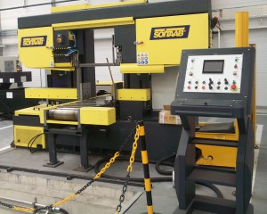 Soitaab SC550mm heavy duty saw at MPS (Alan Matthews)