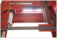 Amada HFA430 work illumination