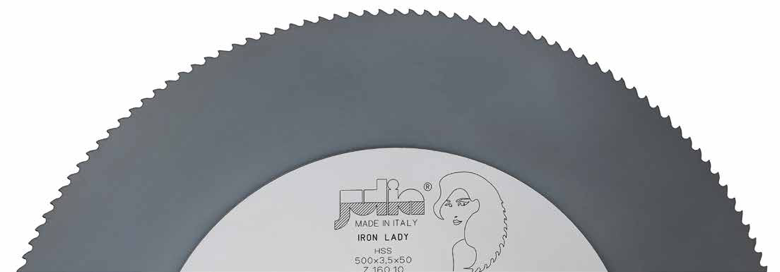 Iron Lady HSS circular saw blade