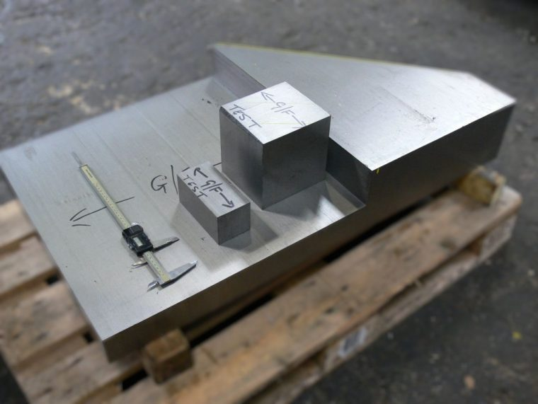 sawing service - test pieces, sectioning and profiling