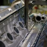 Sawing a complete engine