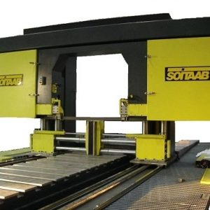 Soitaab gantry saw at Accurate Cutting - multi-axes cutting
