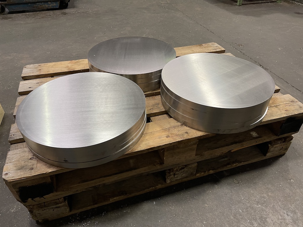 Accurate Cutting sawn stainless steel cut ready to go